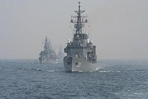 自衛艦「まつゆき」